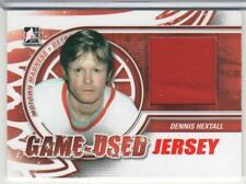 DENNIS HEXTALL 2012-13 ITG MOTOWN MADNESS GAME USED JERSEY # M-33 RED WINGS MINT