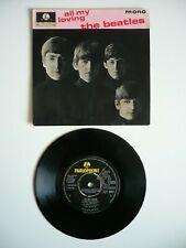 """The Beatles All My Loving EP 7"""" Vinyl UK Orig 1964 Parlophone 1N/1N Single EXC"""