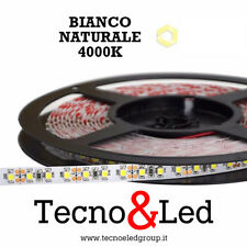STRISCIA LED STRIP 12 VOLT 5MT BOBINA LUCE ALTA 600 LED LUCE BIANCA NATURALE