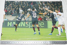 PHOTO 29.5 X 21 PARIS SAINT-GERMAIN PSG JEREMY MENEZ NENE FOOTBALL 2011-2012