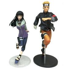 Naruto Uzumaki & Hinata Hyuga Action Figures 2 Pcs Set Anime Statue Toys Gifts