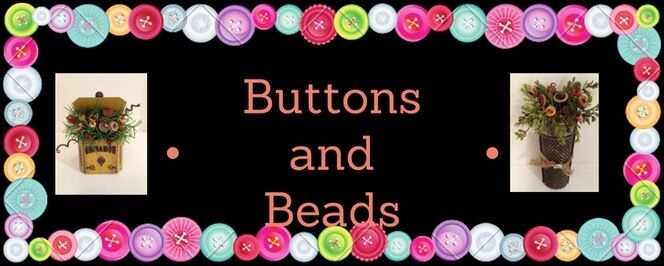 Buttons and Beads13~Vintage Bouquet
