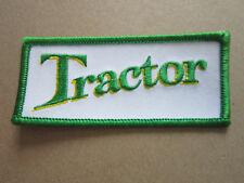 Tractor (Green) Cars Motors Automobilia Motorsport Cloth Patch Badge (L2K)