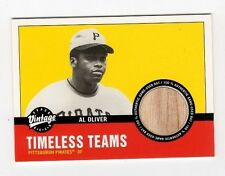 2001 Upper Deck Vintage Timeless Teams Al Oliver - #PIAO