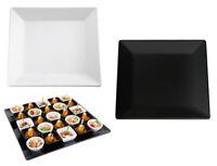 Buffet Display Tablett PURE Quadrat Weiß oder Schwarz stapelbar Gastlando