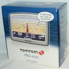 Sealed New TomTom Pro 4000 Gps Set United States Canada Maps 4.3 Lcd 5Eg0.052.11