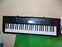 CASIO Electronic Keyboard CTK-1150 100 Song  Synthesizer FAULTY SPARES REPAIRS