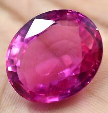 43.45 Ct Natural Mogok Pink Ruby Oval Cut Stunning Gemstone AGSL Certified