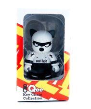 "Toy2r 3"" Qee Oscar Bass Kat Qeezer Tower Records Kidrobot Art Black & White Cat"