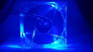 Antec 120mm Blue LED Tri-Cool 3-Speed Case Fan