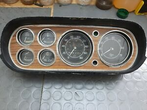 FORD ESCORT MK1 RS2000 GAUGE INSTRUMENT DASHBOARD CLOCKS