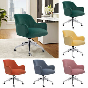 Occasional Velvet Home Office Computer PC Swivel Chair Velvet Nordic Adjustable