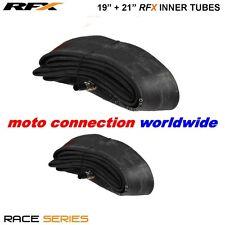 """RFX Raza Serie Frente Y Parte Trasera Interior Tubos 19"""" + 21"""" Para Kawasaki KX125 KX250 2002"""