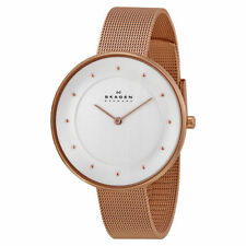 Skagen Gitte Steel Mesh Watch Rose Gold SKW2142