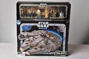 Star Wars Millennium Falcon with Action Figures Original Trilogy Collection