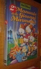 2° MANUALE DELLE GIOVANI MARMOTTE- 1a EDIZIONE DYSNEY LIBRI 1991 - OTTIMO