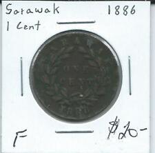 Sarawak 1886 1  Cent