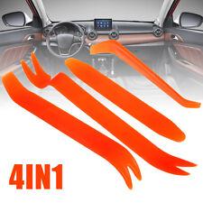 4PCs Car Door Trim Removal Tool Pry Panel Dash Radio Body Clip Installer Kit