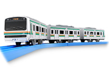 S43 Series E231 Suburb line with sound,Takara Tomy Plarail Japan Motorized train