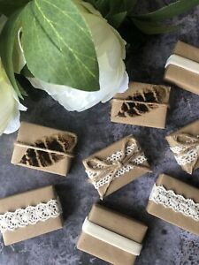 Wedding Favours Guest Gift Eco Friendly Handmade Natural Soap Plastic Free