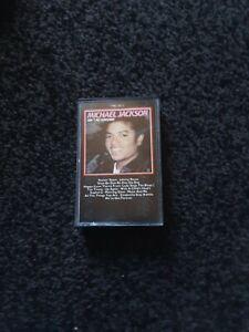 Michael Jackson - Ain't No Sunshine - Solo Hits  Cassette Tape
