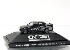 Herpa PKW 3511 AMG Mercedes Benz 190 E 2.3-16  Ludwig  1/87  Vitrine  OVP
