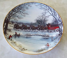 American Tradition Budweiser Busch Clydesdales plate