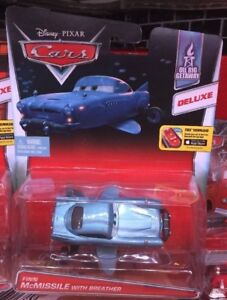 CARS 2 - FINN McMISSILE WITH BREATHER Deluxe - Mattel Disney Pixar