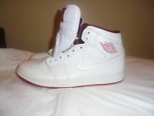 check out dee58 2722b Usado en excelente estado Jordan 1 Mid Retro Blanco Gym Rojo Blanco  554724-103 Talla 11