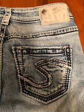 Women's Silver Jeans Company Blue Jeans(Suki High Baby Bootcut) WGW Size 24X31""