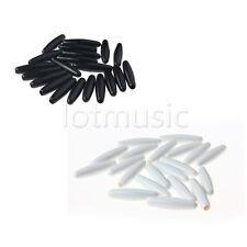 40pcs 5mm Guitar Tremolo Arm Tip Whammy Bar Tip Fits Strat White/Black