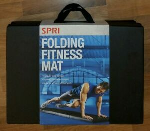 "NEW SPRI Folding Fitness Mat - Four-Fold  68"" x 23.5"" x 1.5"""