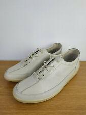 ECCO Men's Leather Lace-Up Casual / Business Shoes 9024 Ice White