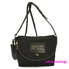 New Marc by MARC JACOBS Mini Natasha Nylon Messenger Crossbody Bag in Black
