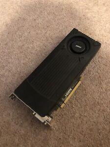 MSI GeForce GTX 760 2GB GDDR5 Graphics Card