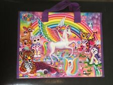 Bendon Lisa Frank Trifold Portfolio With Puzzle Stickers Coloring Book 2016