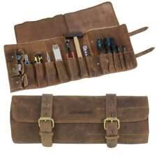 Greenburry Vintage 1690m-25 Leder Wekzeugtasche Werkzeugrolle Tool Bag