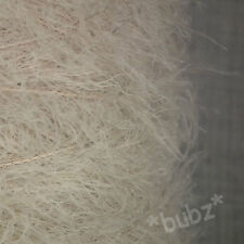 SUPER SOFT 4 PLY FEATHER EYELASH YARN OATMEAL BEIGE 500g CONE 10 BALLS PELLONIA