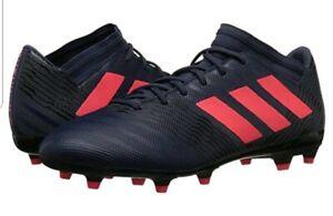 Adidas New Nemeziz 17.1 FG Womens Soccer Cleats Size 6.5 NEW in Box Blue/Red