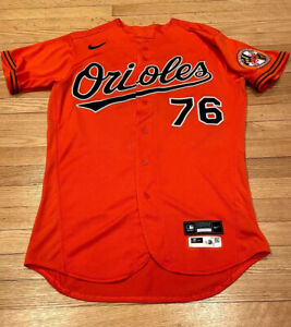 VELAZQUEZ size 44 #76 2020 Team Issued Game Jersey Baltimore Orioles