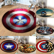 Marvel Avengers Captain America Mat Shield Iron Man Non-slip Floor Rug Carpets