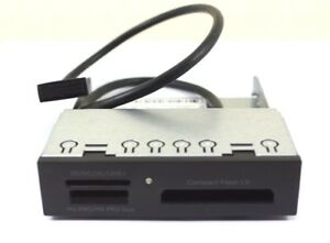 HP 14-in-1 media card reader MCR - Supports USB 2/3.0 3.5-inch 716390-001