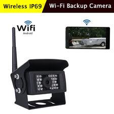 WiFi Wireless Truck Bus Rear View Backup Camera 700TVL 28LED Night Vision