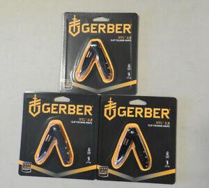 3 Count Gerber STL 2.0 Folding Pocket  Knives NEW