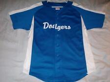 Los Angeles LA Dodgers MLB 6 Champion Blue Button Up Jersey Men's Large used