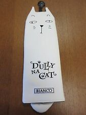 """NEW !!! DULLY NA CAT ANIMAL CAT GOLF FAIRWAY WOOD  HEAD COVER """" BIANCO """""""