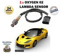 FOR LOTUS EVORA 3.5 VVTI S 24v ROADSTER 2009--> NEW 1 X 02 OXYGEN LAMBDA SENSOR
