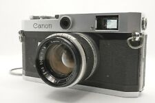 [EXC+5] Canon P Rangefinder Camera + 50mm f/1.8 Lens From Japan