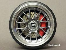 99068-20 llantas de aluminio 1:18 BBS RS GT-Design 20 14,5/14,5 PSF incl. logo