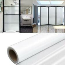 Blackout Darkening Privacy Frosted Static Window Glass Film Cling Tint Sticker